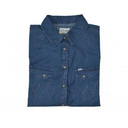 Jeansbluse - W51473V3E